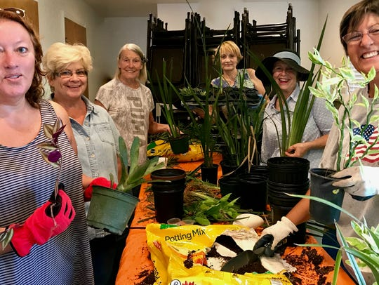 The Garden Club of Fort Pierce is getting ready for