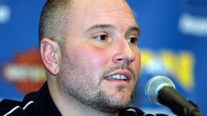 Rex Chapman, former vice president of player personnel for the Denver Nuggets, talks Jan. 11, 2007.