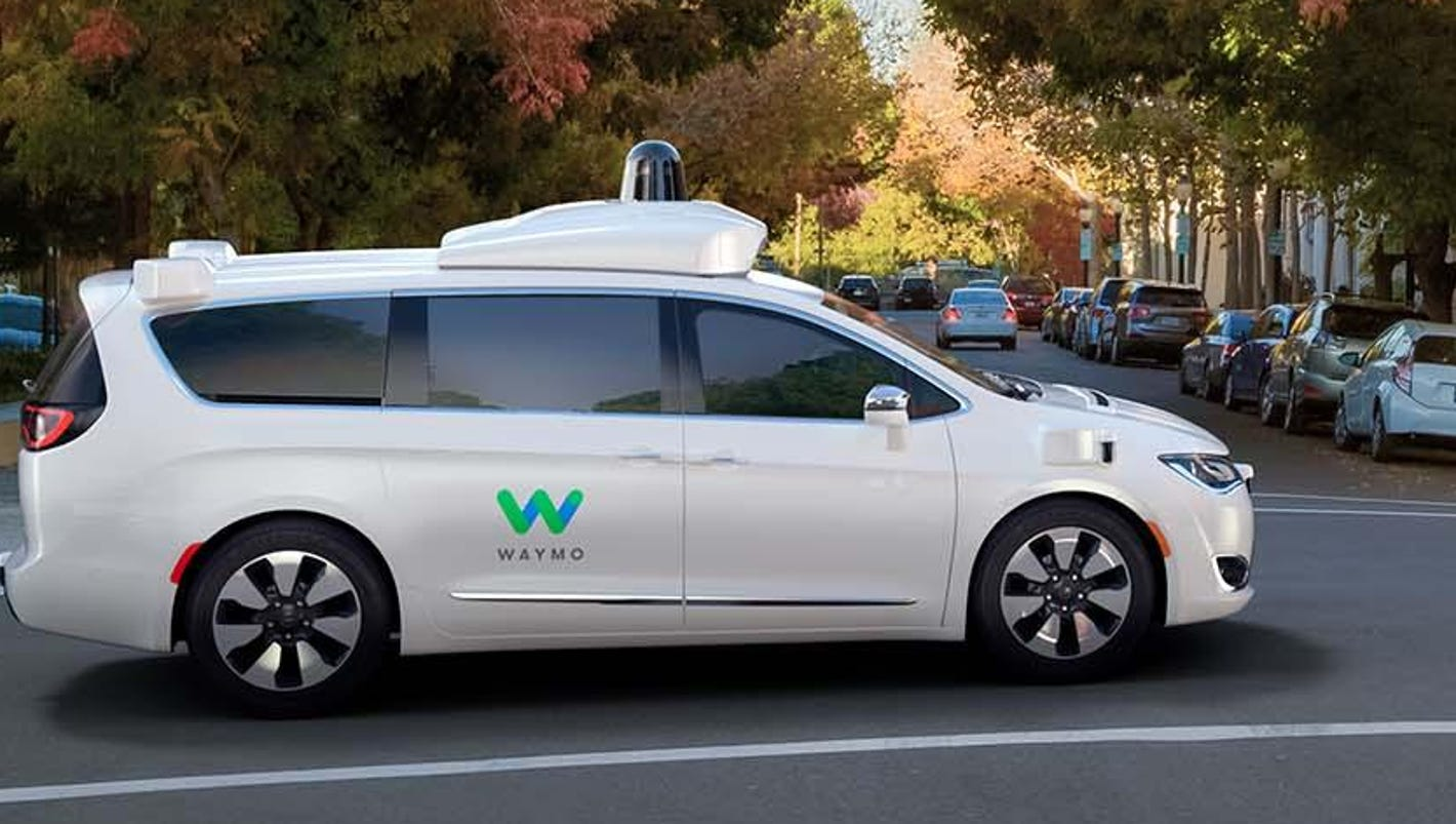 Waymo orders 1,000s of Pacificas for driverless taxis