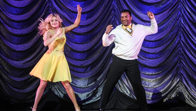 'Dancing With the Stars' professional champ Witney Carson has a new title: Mrs. McAllister.