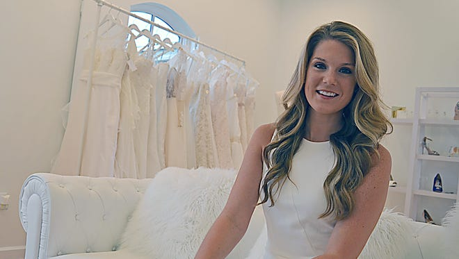Kristin Panetta, owner of Elle James Bridal, found her true calling to be a bridal consultant while working as a party planner.