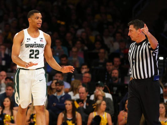 NCAA Basketball: Big Ten Conference Tournament-Michigan State vs Michigan