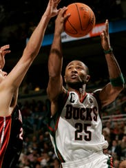 Bucks guard Mo Williams had his first and only triple-double