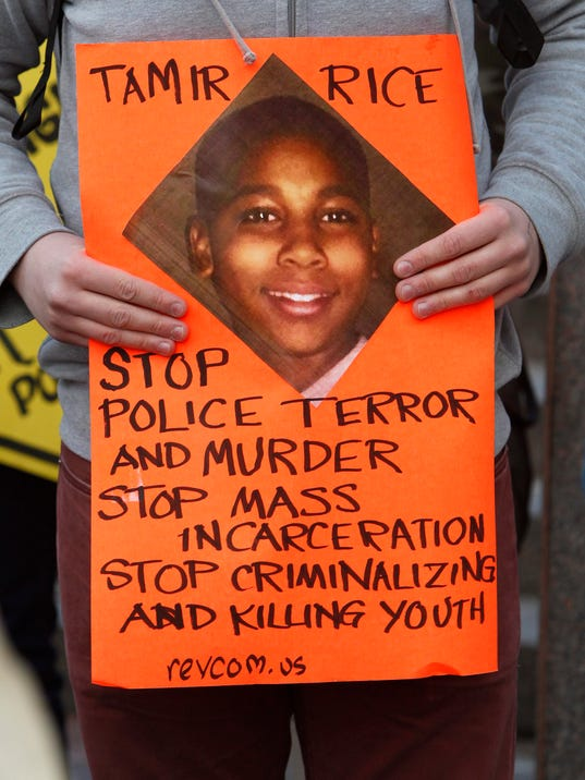 EPA USA CLEVELAND TAMIR RICE POLICE SHOOTING CLJ CRIME USA OH