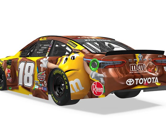 First look: Kyle Busch's new Daytona 500 paint scheme