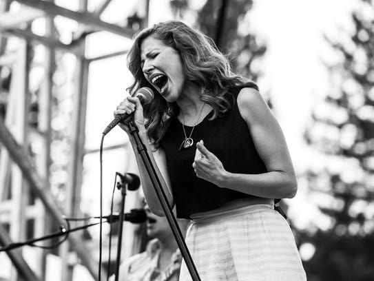 Lake Street Dive plays in Quincy, Ca for the 25th annual