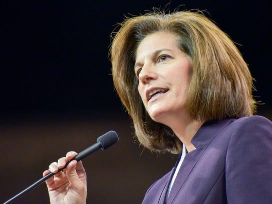 Nevada Democratic Senate candidate Catherine Cortez