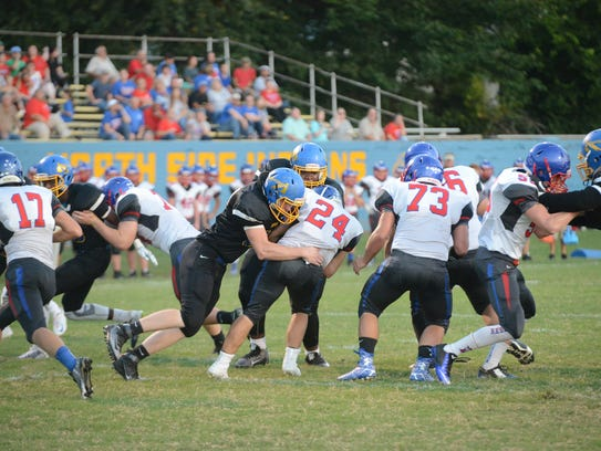 North Side High School hosted Obion County, Friday,