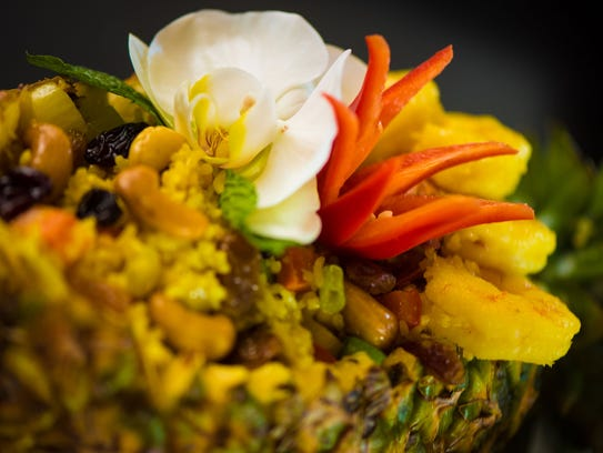 Pineapple Fried Rice at Zen Culinary.
