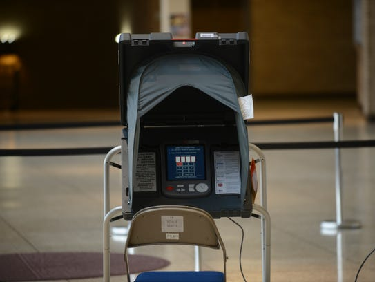 Madison County residents casted their ballots in the