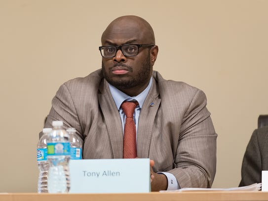 Tony Allen, chair of Wilmington Education Improvement