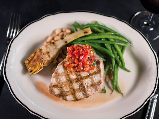 The grilled swordfish at Bill's