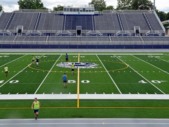 Chambersburg's Trojan Stadium underwent renovations