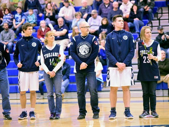 Chambersburg hosted Central Dauphin East in basketball
