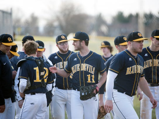 Greencastle hosted Boiling Springs in baseball on Tuesday,