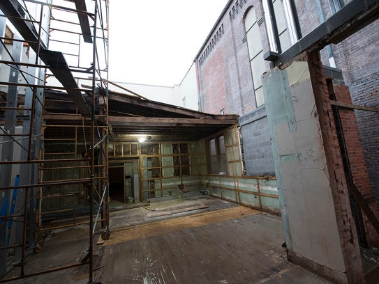 Franklin County Visitors Bureau is renovating a building