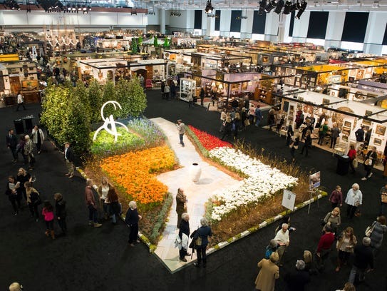 Nate berkus shares style secrets at antiques and garden show Nashville home and garden show
