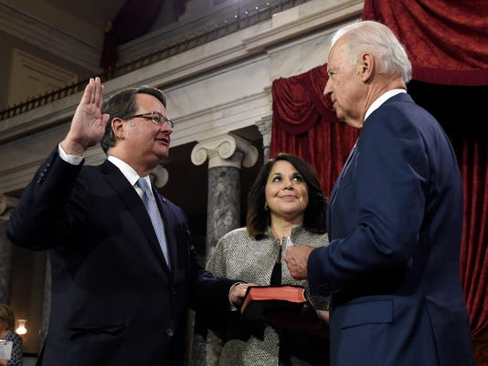 Joe Biden, Colleen Ochoa, Gary Peters