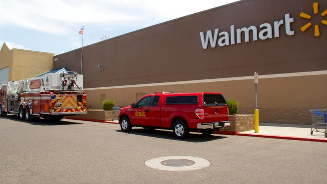 A small fire was reported on July 23, 2014, inside a Walmart Supercenter located on 13055 Rancho Santa Fe Blvd., according to Avondale Fire Department officials.
