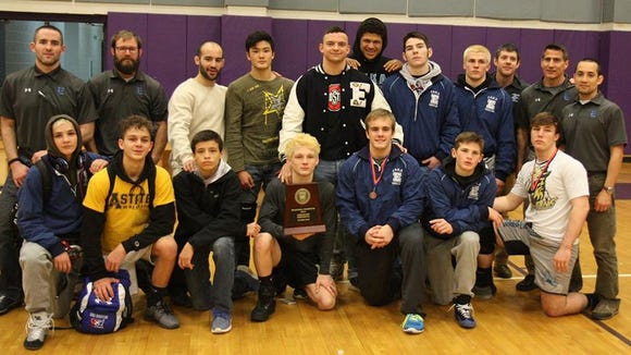 Enka won the 3-A Western Regional wrestling tournament Saturday at North Henderson.