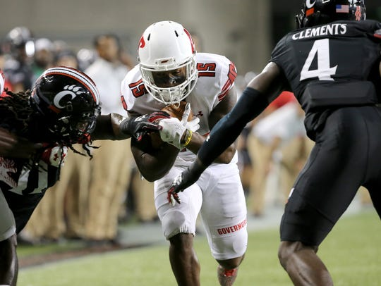 Austin Peay Governors wide receiver Josh Alexander