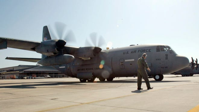 Keesler Air Force Base is shown in this file photo.