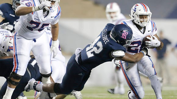 Oct 30, 2015; Houston, TX, USA; Louisiana Tech Bulldogs