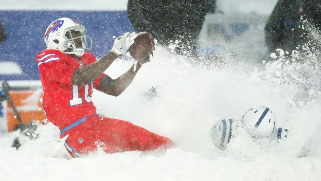 Buffalo Bills Snow Game Photos Vs Indianapolis Colts
