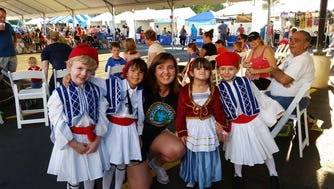 Dancers performing at A Taste of Greece Greek Festival of Chandler range from 3-year-olds to high school students.