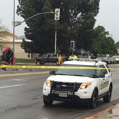 Two people are dead following a high-speed chase through