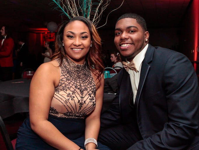 Holloway High held its prom at the Smyrna Event Center