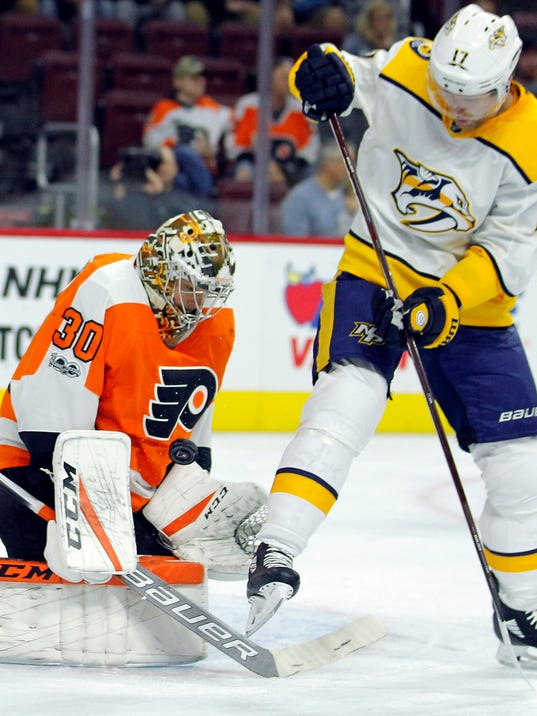 Michal Neuvirth, Scott Hartnell