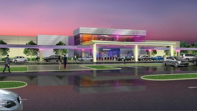 A rendering of what the Catawba Indian Nation's casino could look like.