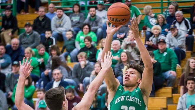 New Castle defeated Yorktown at Yorktown High School Friday, Jan. 19, 2018.