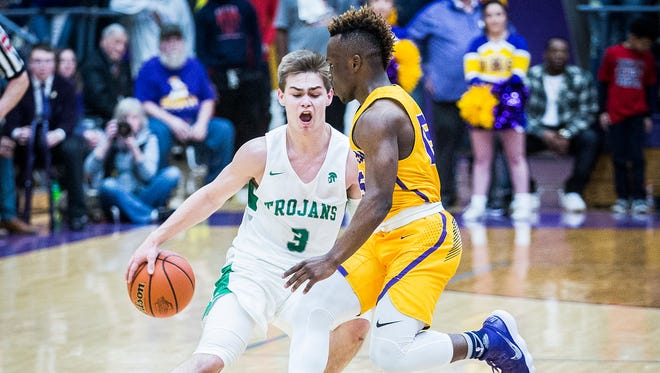 New Castle defeated Marion in their regional championship game at Marion High School Saturday, March 10, 2018.