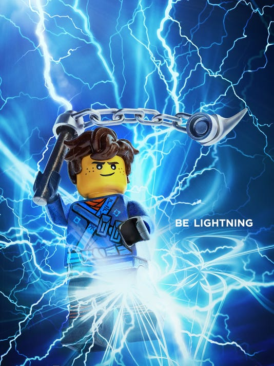 Lego Ninjago Movie Posters Show Off Individual Ninja Awesome Ness