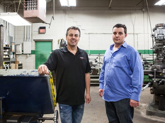Eric Paxton and Lance Paxton are the owners of Sherwood Prototype in Highland Park. This company is one of the two big $100,000 grant winners in NEIdeas competition.
