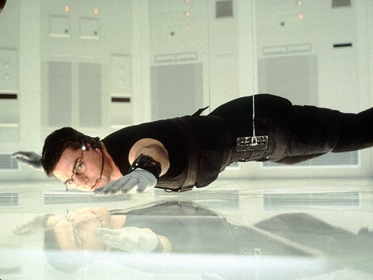 Ethan Hunt (Tom Cruise) goes to extraordinary lengths
