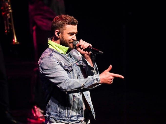 Grammy Award-winner Justin Timberlake was born in Memphis