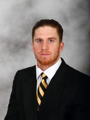 Wake Forest head shot of Mike Weaver from April of
