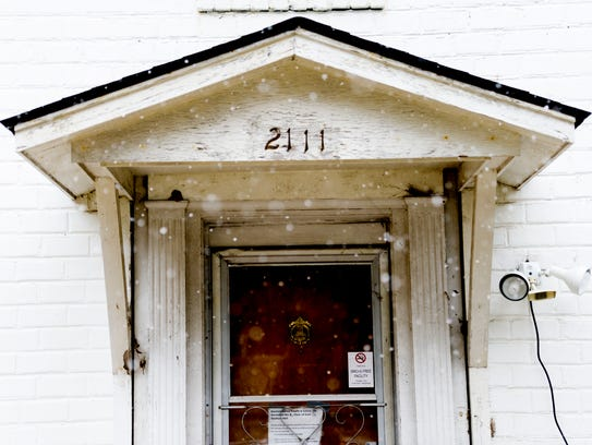 This home at 2111 Terrace Ave was one of the first