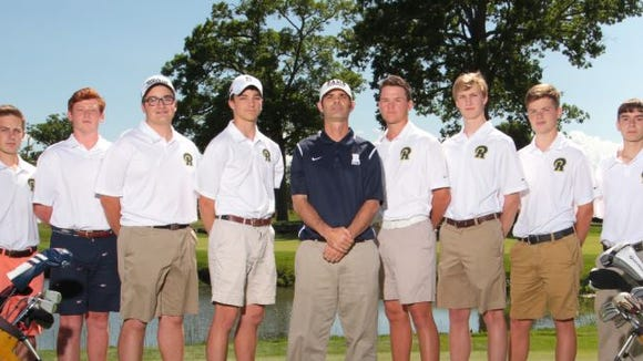 The Roberson golf team.