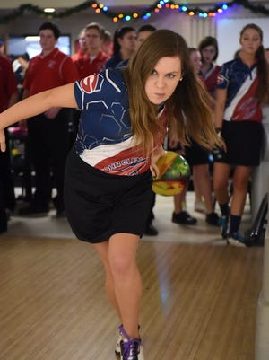 Ashley Kolb said being left-handed can be advantageous in big-time tournaments.