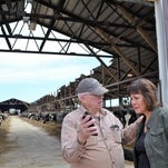 Wisconsin weather: Walker, state officials tour damage to area farms from historic blizzard