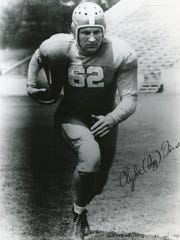 "Clyde ""Ig"" Fuson was a fullback for Tennessee in 1942."