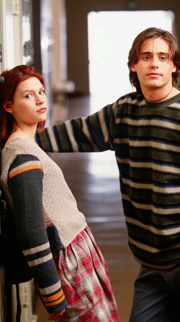 "Claire Danes and Jared Leto in ""My So-Called Life."""