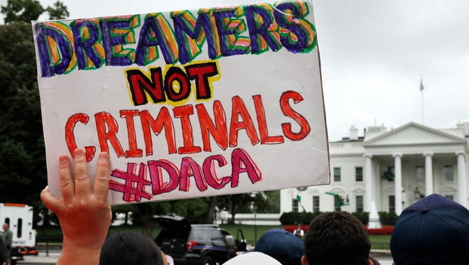 The Supreme Court is considering the Trump administration's appeal of a federal judge's decision that blocked ending the DACA program for undocumented youths.