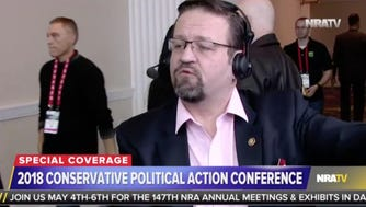 A screen shot of NRAtv, the streaming site of the National Rifle Association.