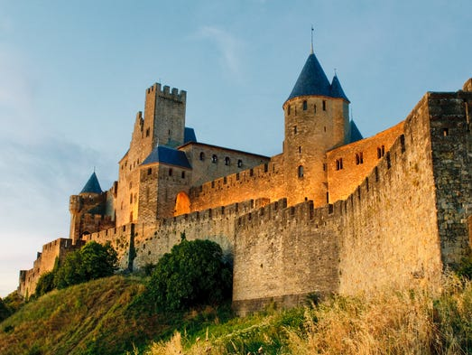 Carcassonne, in the south of France, is the perfect