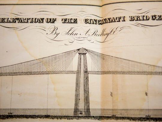 This document illustrates the original bridge design